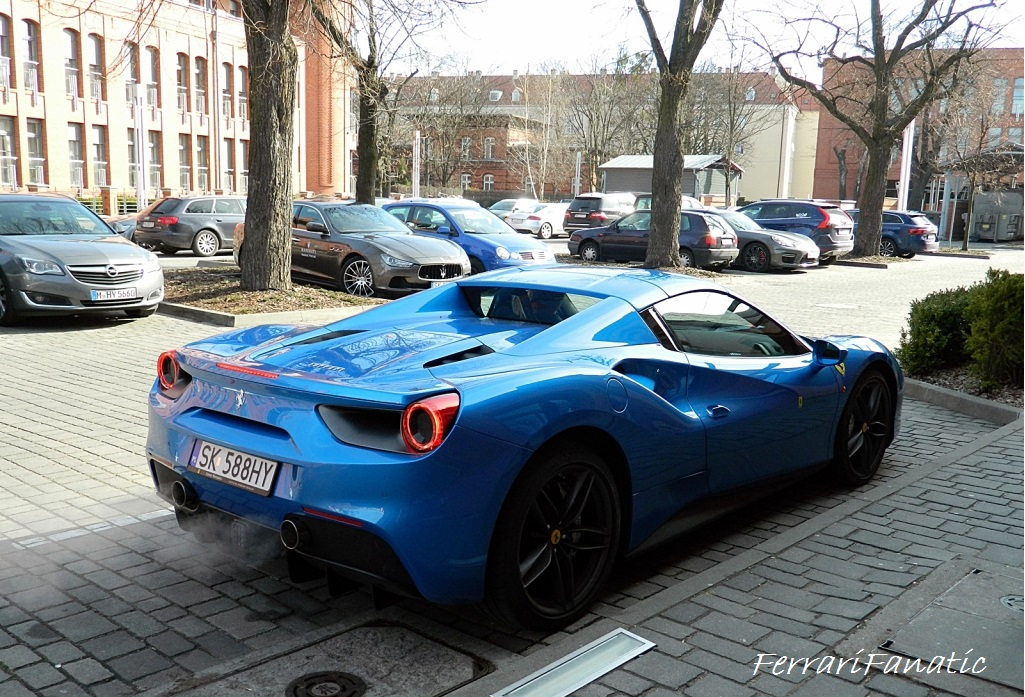 Check Out The Exhausts Of This Ferrari 488 Spider Ferrarifanatic